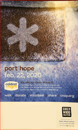 Coldest Night of the Year Volunteer Opportunity