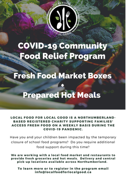 Community Food Relief Program, check it out!